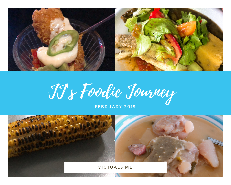JJ's foodie journey – February 2019