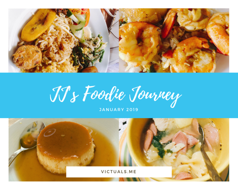 JJ's foodie Journey – January 2019