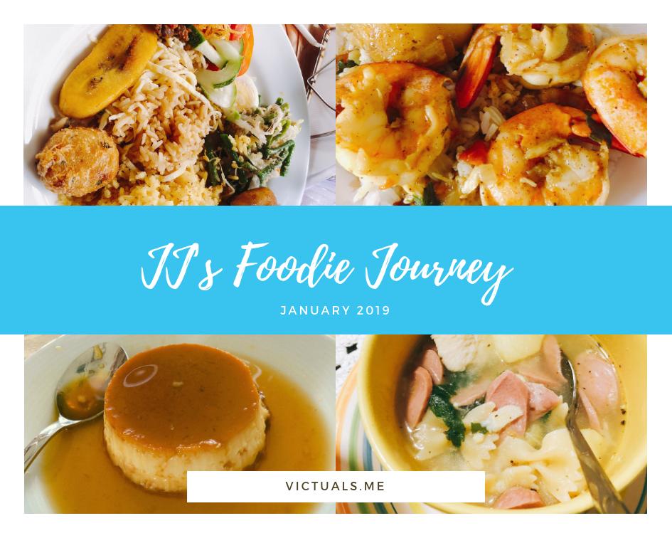 JJ's foodie Journey – January 2019