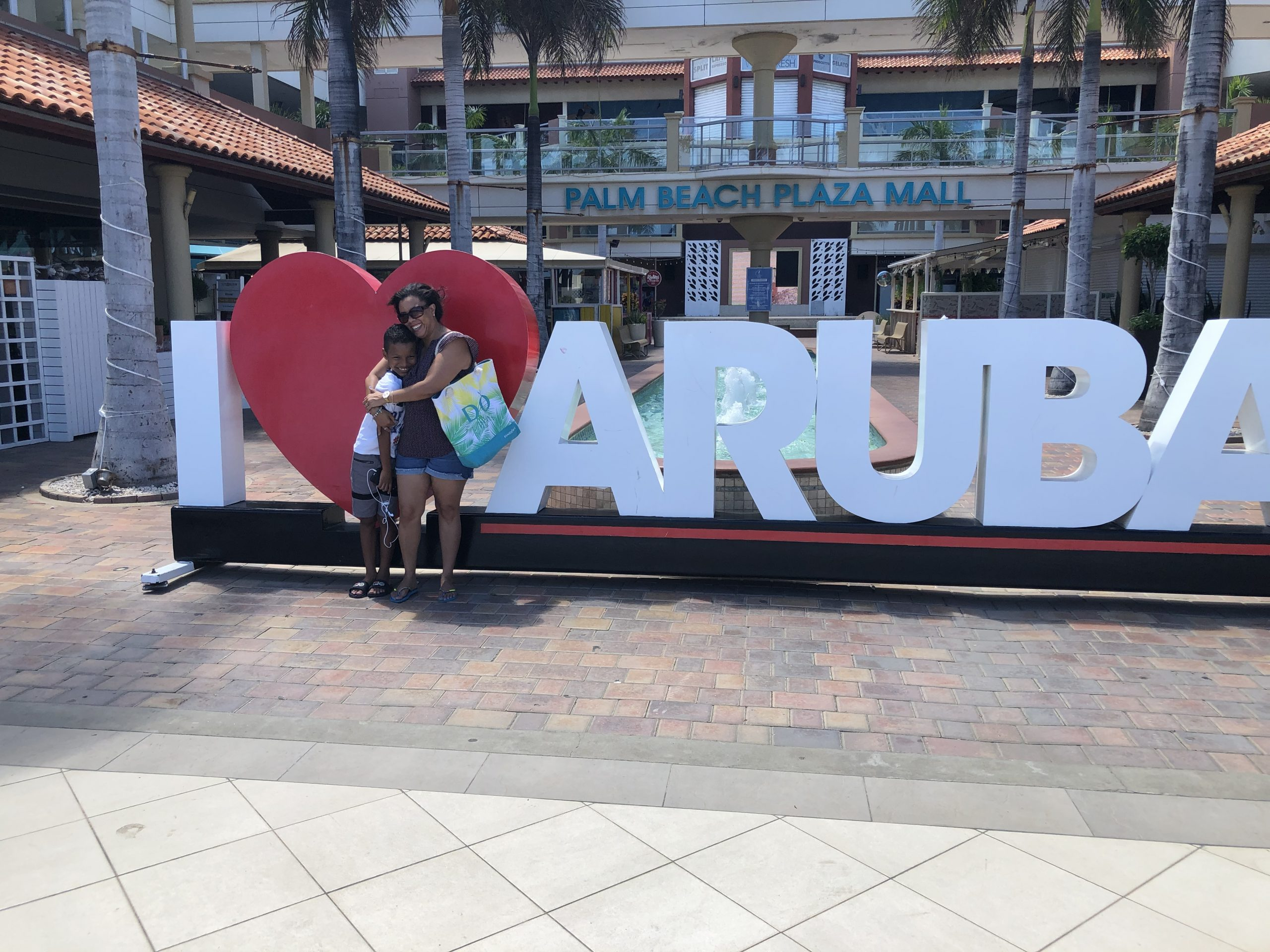 I love Aruba - sign