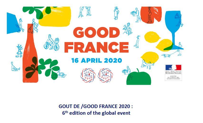 Goût de/Good France 2020: 6th edition of the global event