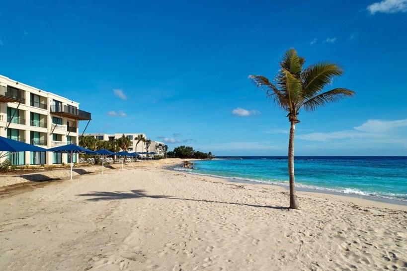 The beaches of Curacao Marriott Beach Resort