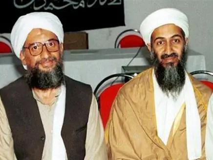 أسامة بن لادن وأيمن الظواهري