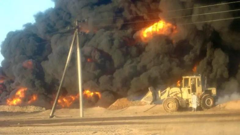 Yemen's main oil pipeline bombed, crude flow stops thumbnail