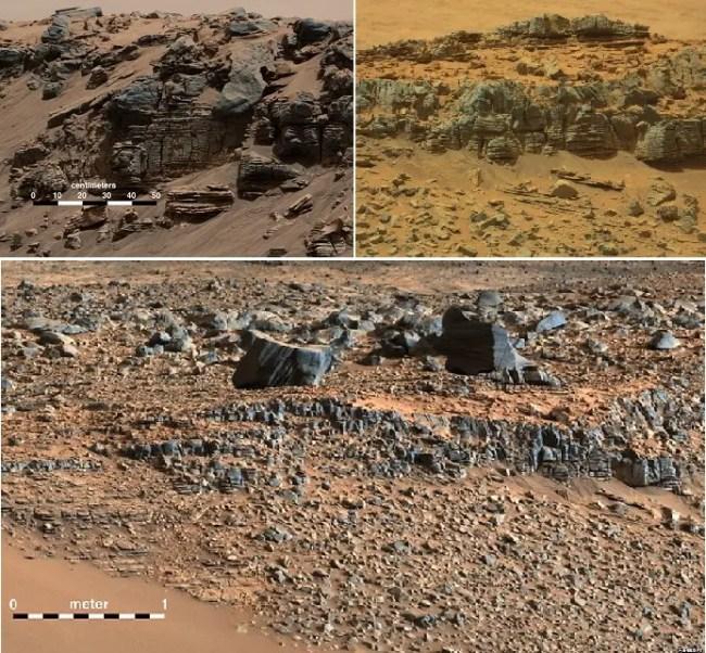 المريخ عالم قائم بذاته من الصخور والأحجار والرمال، لكن ناسا أضافت اليه الماء أيضا