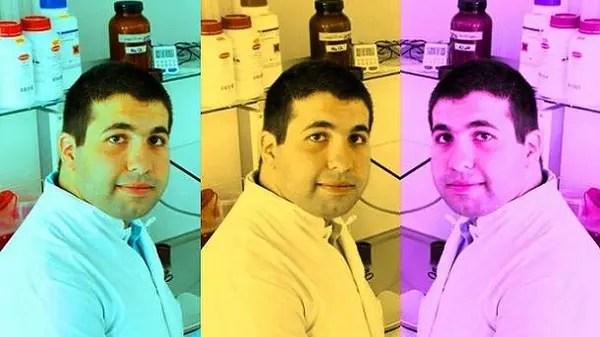 أكرم أمين، يقيم في ألمانيا منذ 7 سنوات