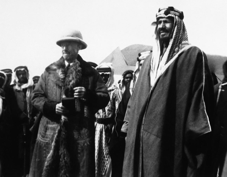 King Abdulaziz in 1930. (File Photo: AP)