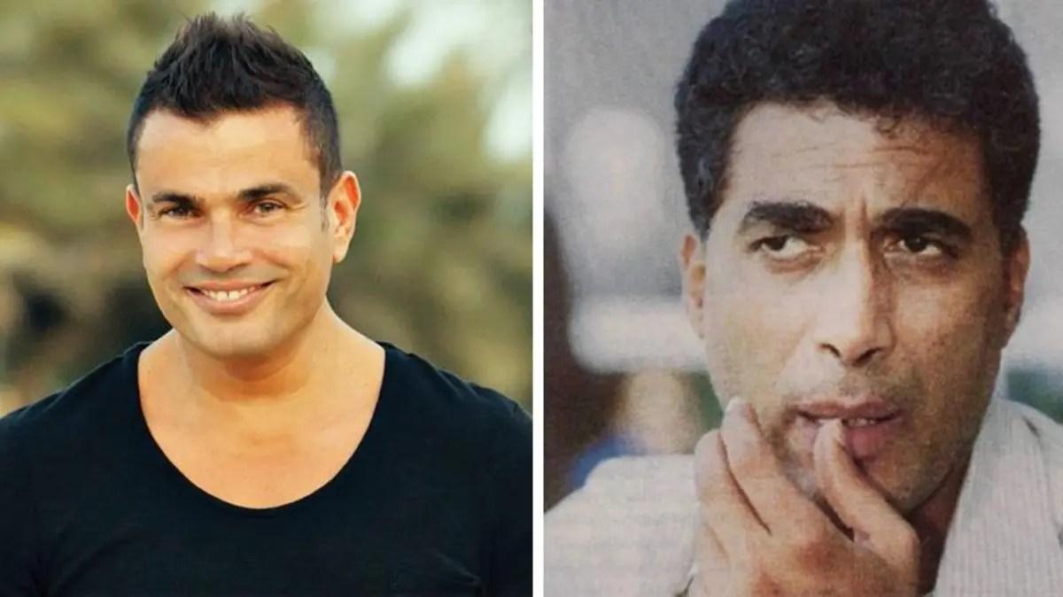 ما قصة رفض أحمد زكي للمشاركة في أغنية عمرو دياب