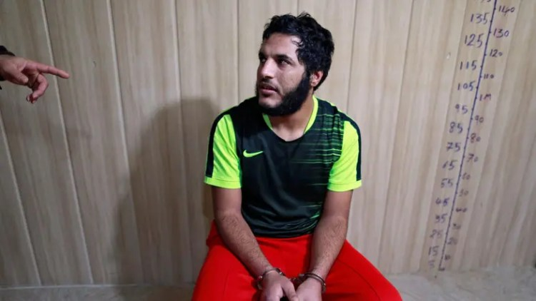ISIS captured militant Ammar Hussein. (Reuters) Reuters, IraqMonday, 20 February 2017