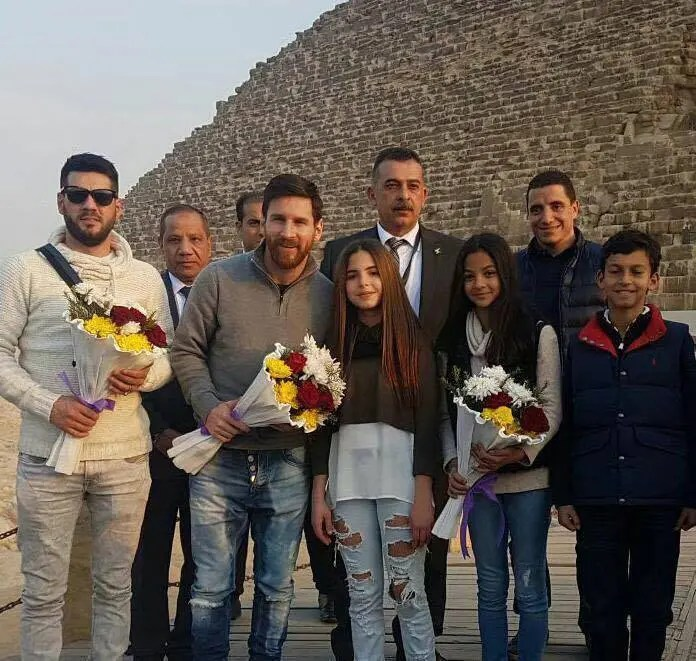 Messi Speaks Highly Of Egypt After Visit 7