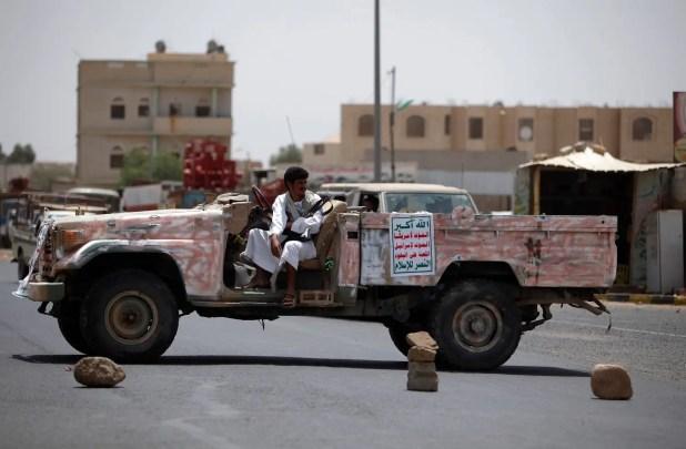 دورية للحوثيين في صعدة (أرشيفية)