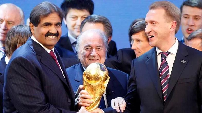 Blatter insists Sarkozy, Platini awarded World Cup 2022 to Qatar