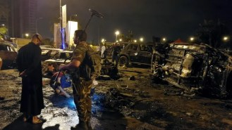 Image result for At least seven killed in Libyan car bomb explosion