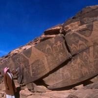 IN PICTURES: What's the story behind ancient lion engravings in Saudi Arabia?; Mohamed Al Harby; Al Arabiya