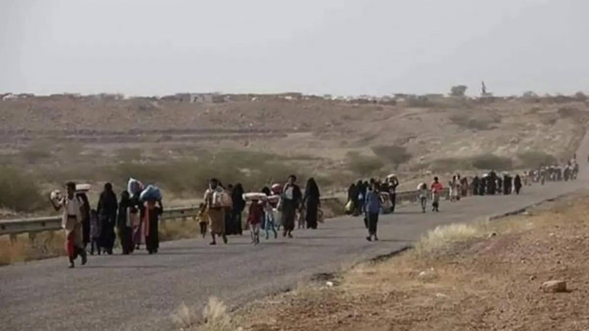 تقرير يكشف عن ارتكاب مليشيا الحوثي الاف الانتهاكات بحق أبناء حجور