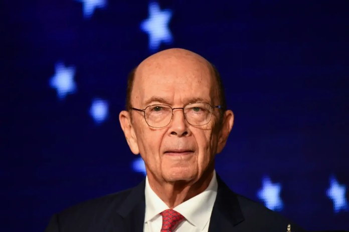 File photo of US Comerce Secretary Wilbur Ross. (AFP)