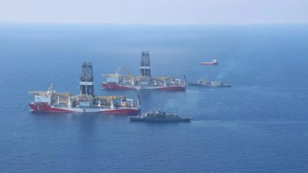 السفن التركية في البحر المتوسط