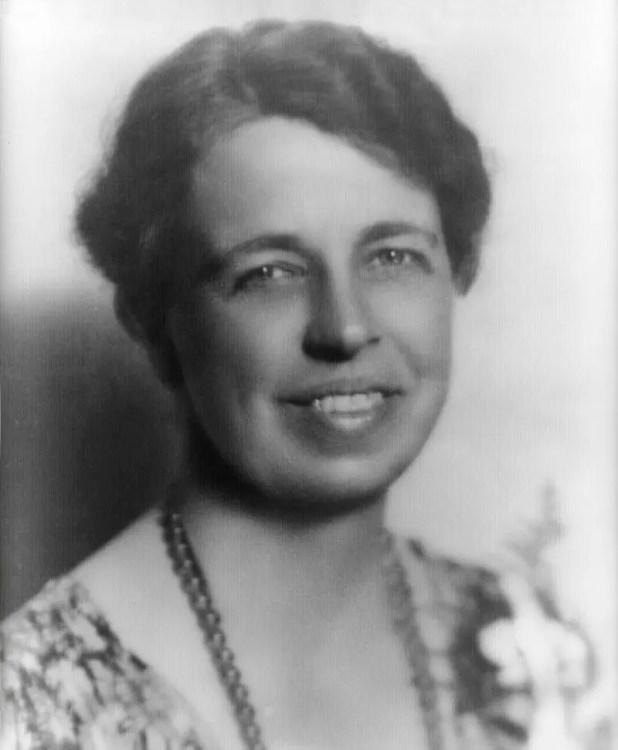 صورة لإليانور روزفلت زوجة الرئيس الأميركي