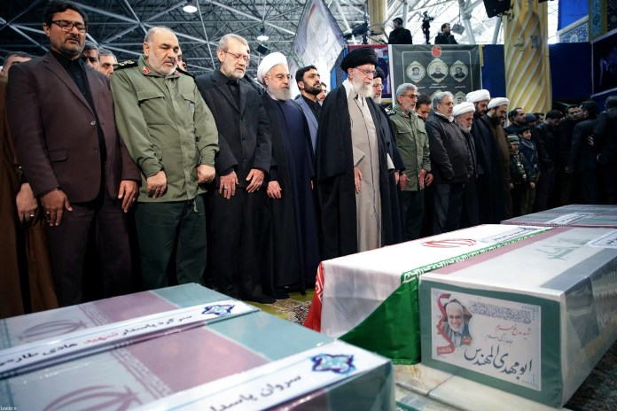 Soleimani's funeral in Tehran (AFP)
