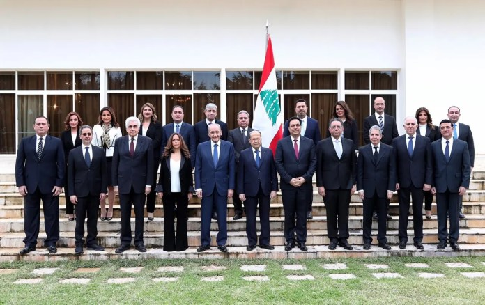 The image of the new Lebanese government