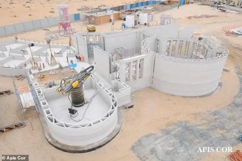 أكبر مبنى مطبوع ثلاثي الأبعاد في دبي