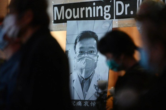 Chinese doctor Lee (AFP)