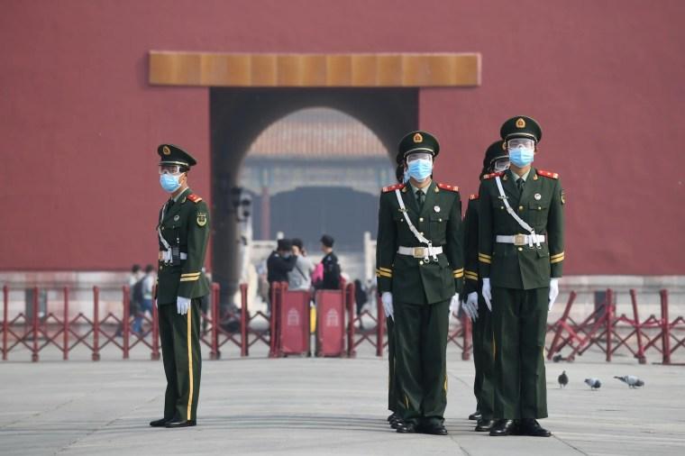 من المدينة المحرمة في بكين(فرانس برس)