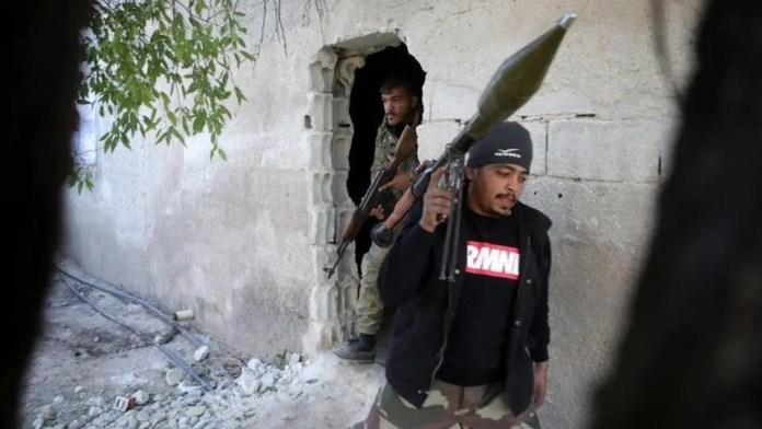 Syrian mercenaries in Libya