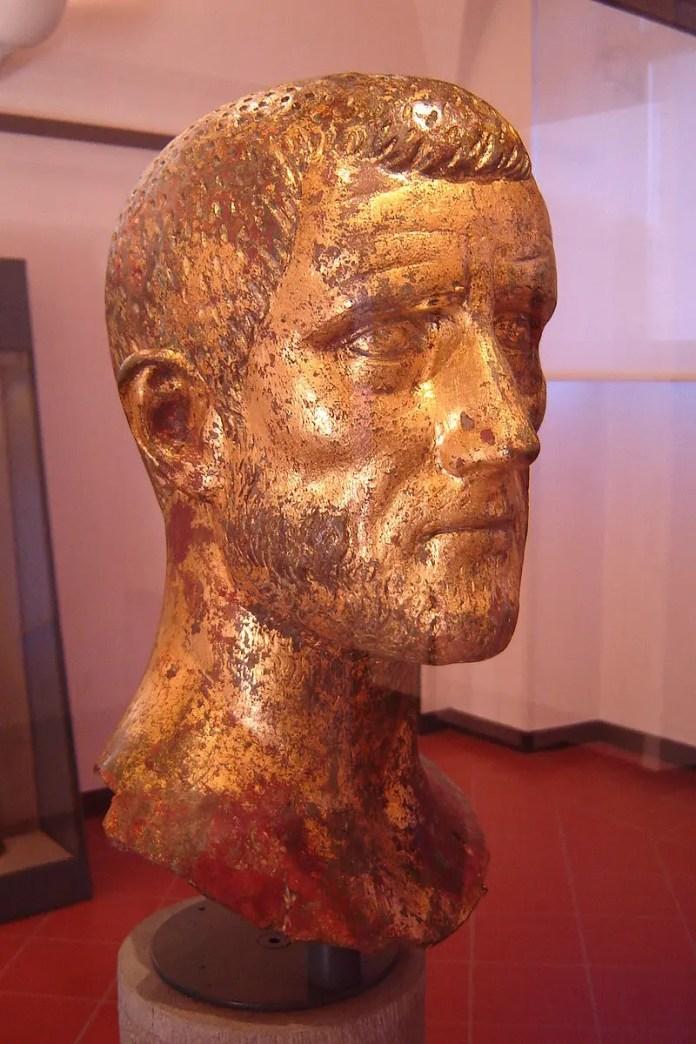 Bust of Emperor Claudius II