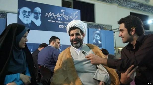 القاضي الايراني غلام رضا منصوري