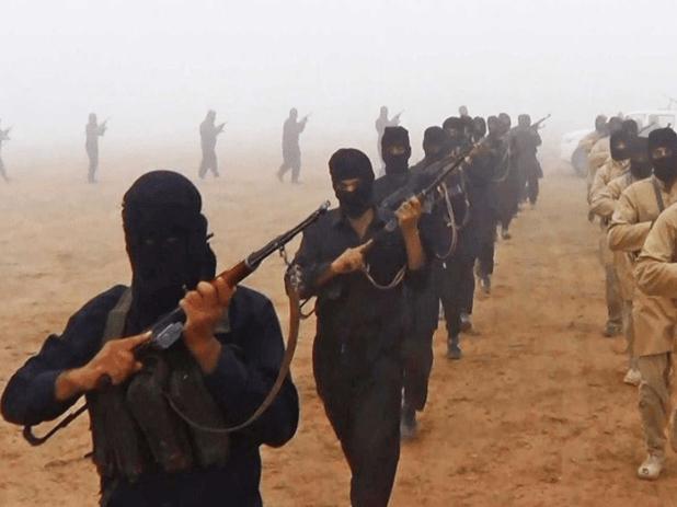 عناصر من داعش في سوريا