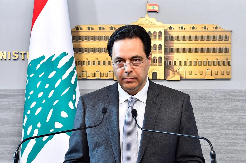 File photo of caretaker Prime Minister Hassan Diab.