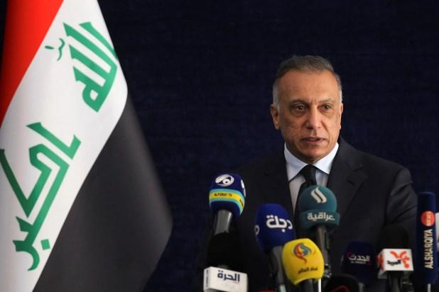 مصطفى الكاظمي (أرشيفية- رويترز)