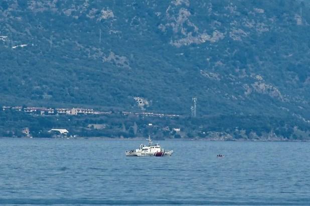 سفينة تركية في المتوسط - فرانس برس