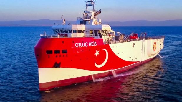 سفينة المسح التركية في شرق المتوسط