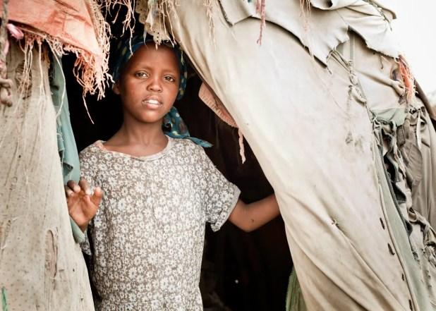 فتاة صومالية - تعبيرية