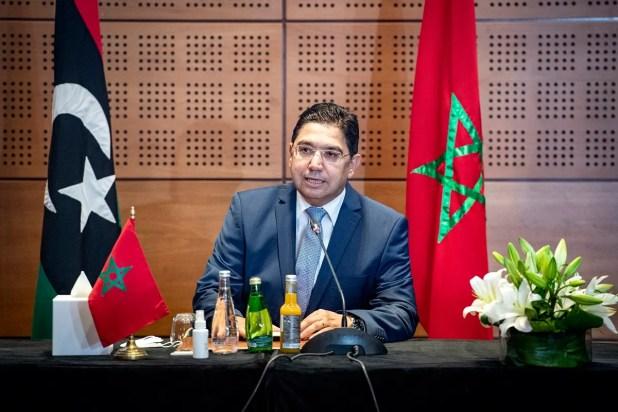 وزير الخارجية المغربي في جلسات الحوار الليبي