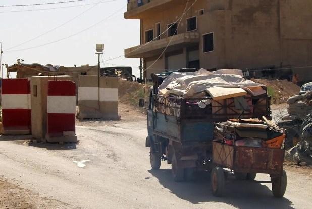 الحدود السورية اللبنانية(أرشيفية)