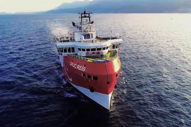 سفينة التنقيب التركية  أوروك ريس