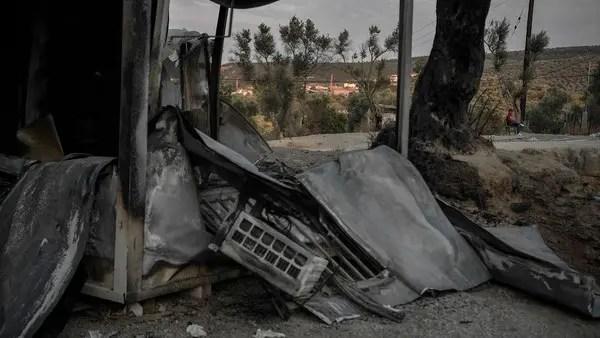 Greek police arrest five migrants over Moria camp fire: Official