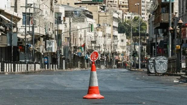 من وسط العاصمة الأردنية عمان