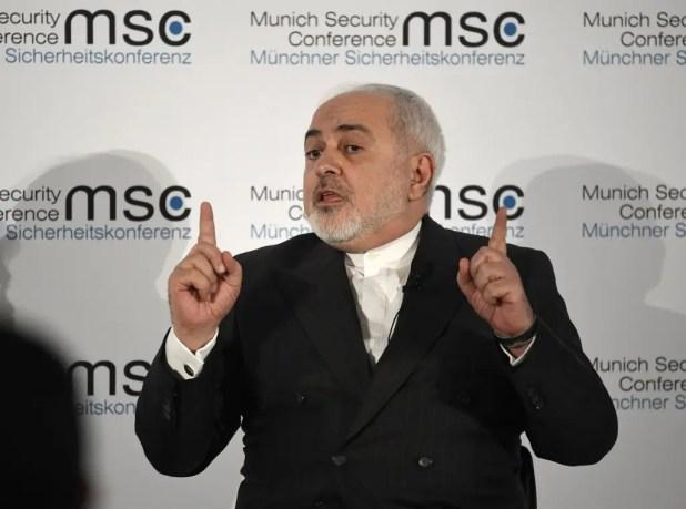 وزير الخارجية الإيراني محمد جواد ظريف (أرشيفية)