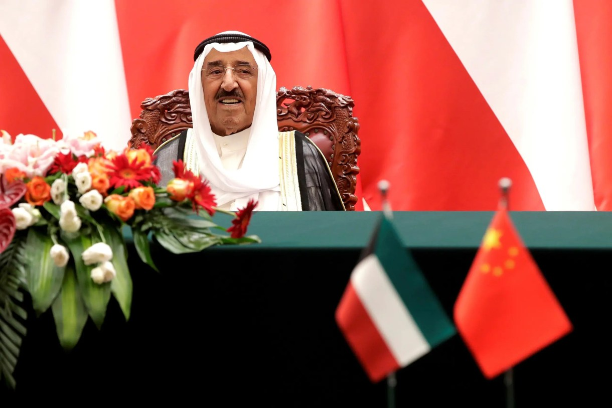 أمير الكويت الراحل