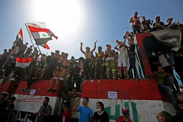 """من احتجاجات العراق """"أرشيفية"""""""
