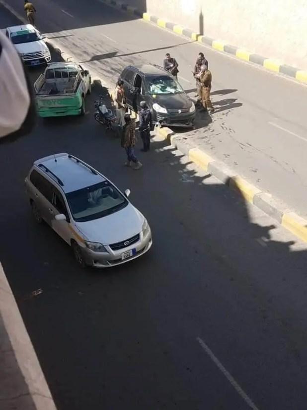 موقع اغتيال القيادي الحوثي حسن زيد في صنعاء
