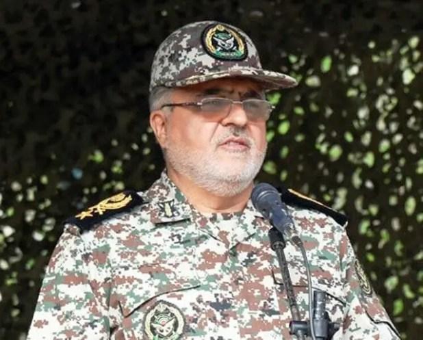 قادر رحيم زاده نائب قائد قاعدة خاتم الأنبياء  للدفاع الجوي بالحرس الثوري الإيراني