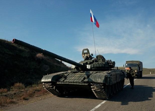 قوات روسية في كاراباخ