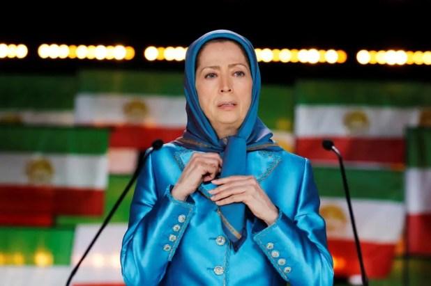 زعيمة المعارضة الإيرانية مريم رجوي