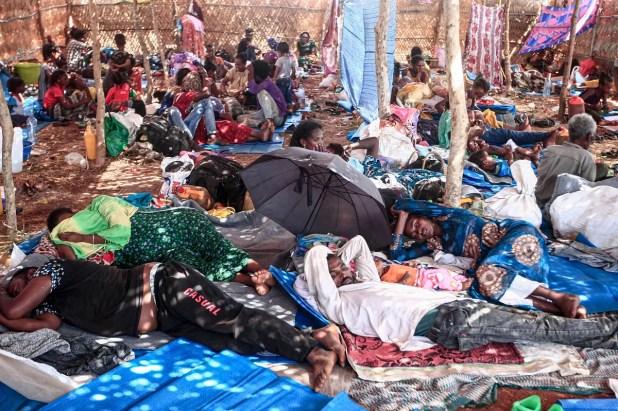لاجئون من اثيوبيا في السودان