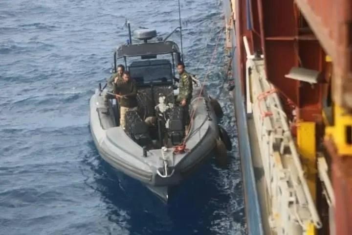 قوات الجيش الليبي تحتجز سفينة تحمل علم جامايكا وعلى متنها 9 بحارة أتراك